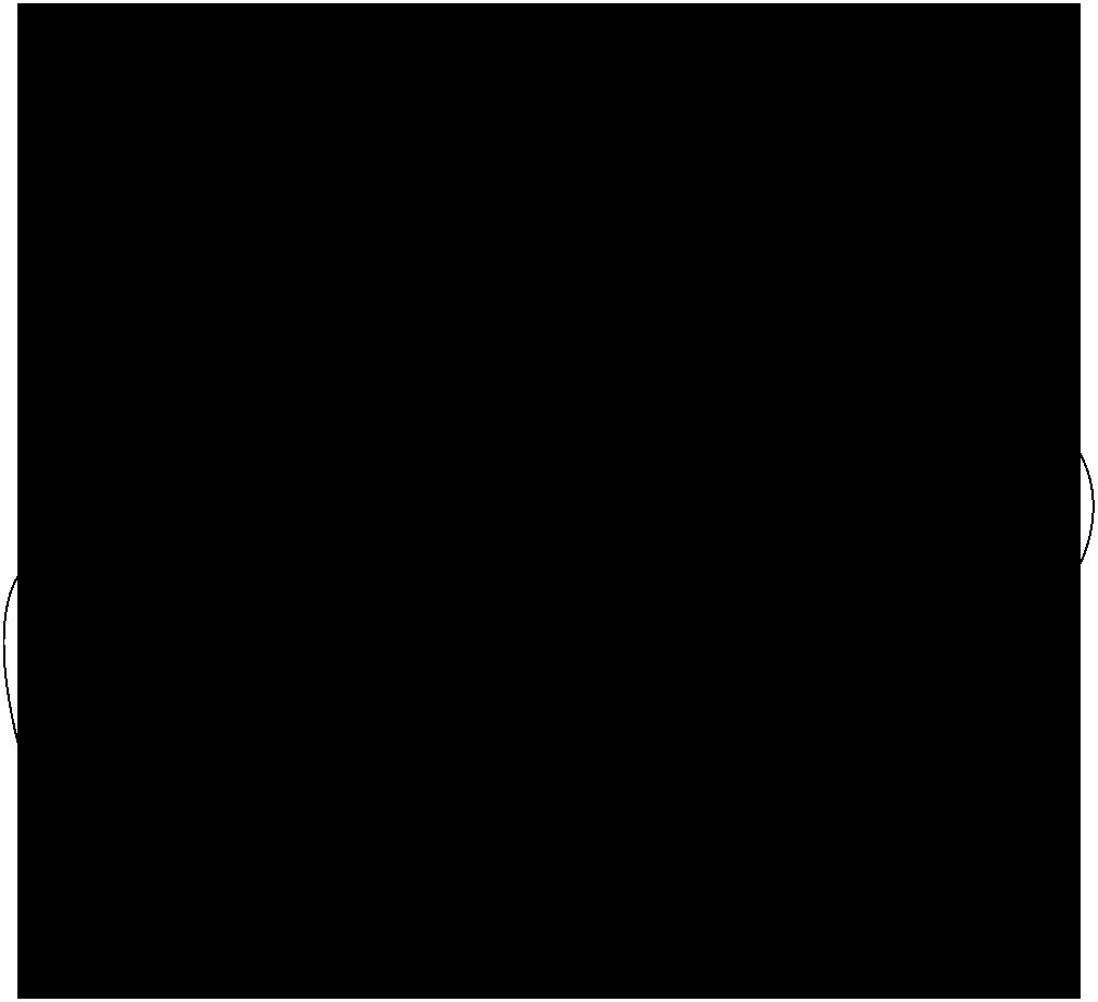 Hotel Garden Logo Shape